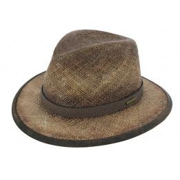Chapeau Traveller Rodeo Seagrass Paille Marron - Stetson