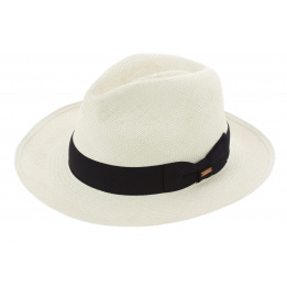 Chapeau Traveller Gamblino Panama Blanc Crème - Traclet