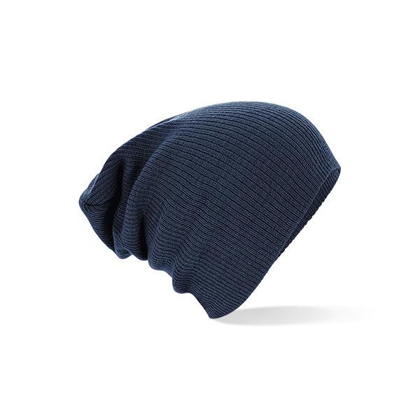 Bonnet Oversize Acrylique bleu - Beechfield