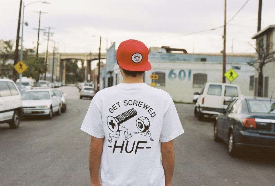 Casquette trucker Huf
