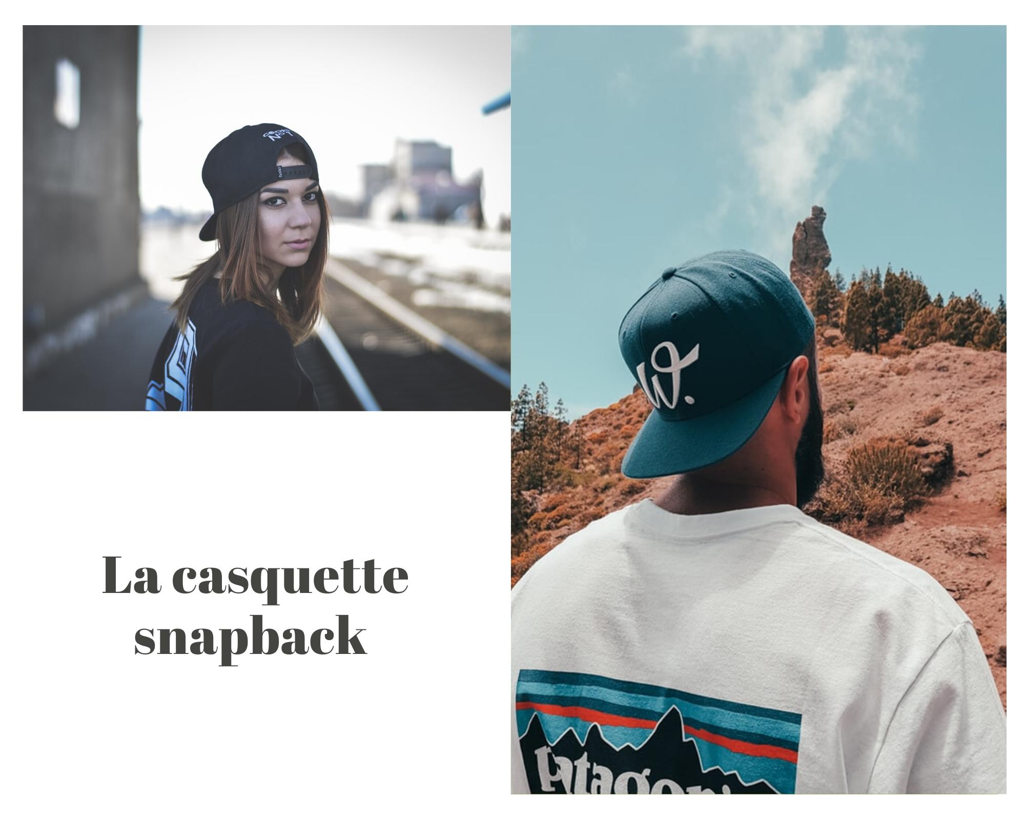 La casquette Snapback