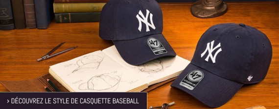 casquette 47 style baseball